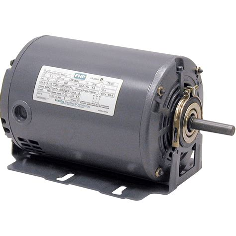 1 Hp Electric Motor by Leeson Fan And Blower Electric Motor 1 3 Hp 1725 Rpm
