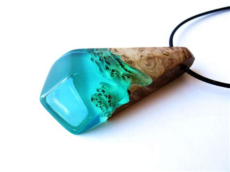 epoxy resin jewelry resin wood necklace epoxy resin wood resin jewelry resin