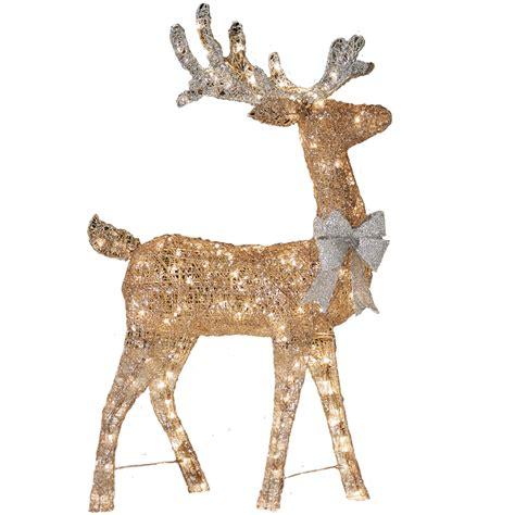 lighted grapevine deer 28 best lighted outdoor deer 30 quot gold grapevine