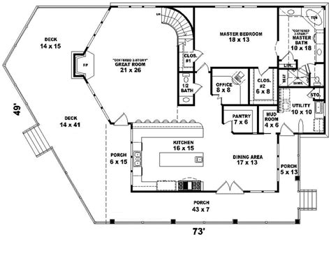 waterfront floor plans house plans and design modern house plans waterfront