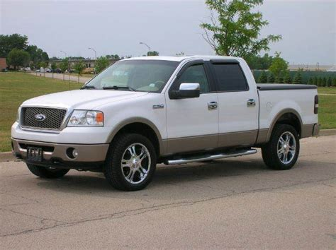 2006 Ford F150 Mpg by 2006 Ford F 150 Lariat 4dr Supercrew 4wd Styleside 5 5 Ft