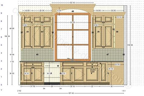 how to plan a kitchen cabinet layout cabinetry floor plan elevations design layouts to build
