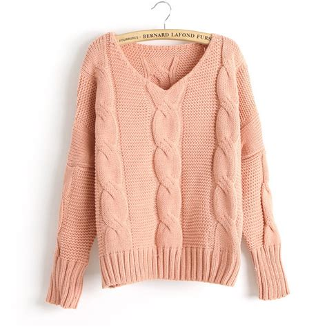 sweater knit new arrival twist bat sleeve knitted sweater on luulla