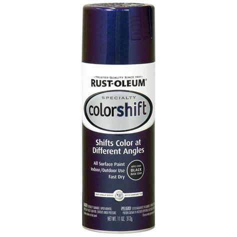 spray paint rustoleum colors rust oleum specialty 11 oz galaxy blue color shift spray