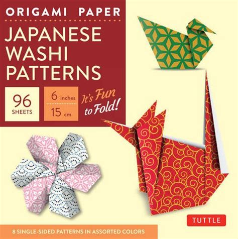 high quality origami paper origami paper japanese washi patterns 6 quot 96 sheets