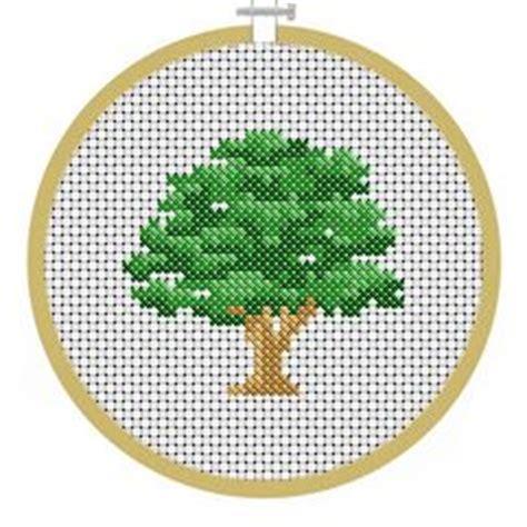 small tree pattern 25 best ideas about cross stitch landscape on