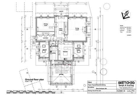 new build floor plans exle self build 7 bedroom farm house