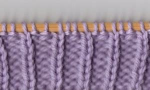 knit one purl two a read recognizing the knit and purl stitches