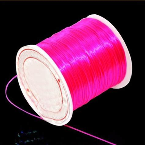 best thread for beading top sale elastic stretchy beading thread cord bracelet