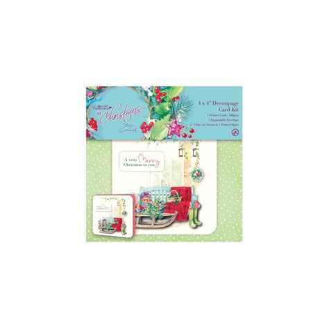 decoupage card kits 4 quot x 4 quot decoupage card kit at by cromwell