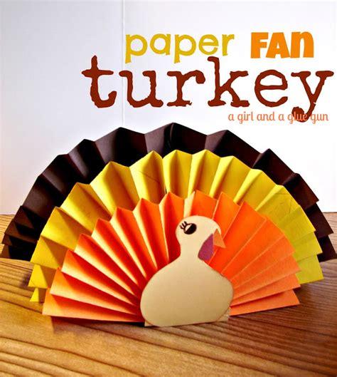 thanksgiving paper craft 15 thanksgiving crafts clutter