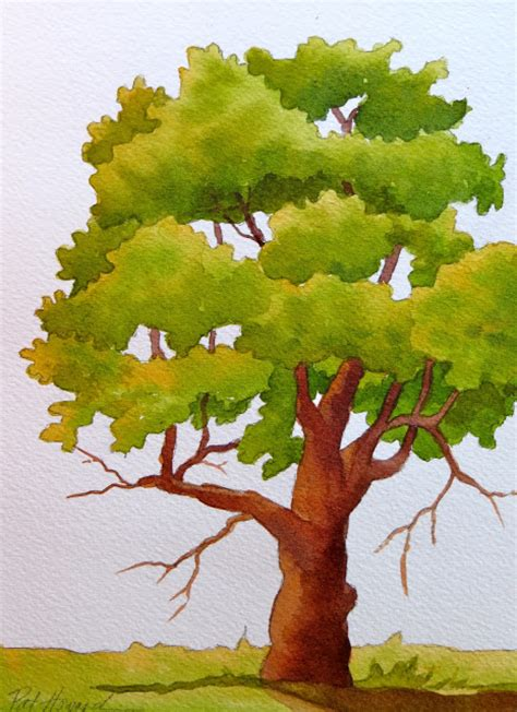 paint tree the painted prism 5 watercolor techniques for trees
