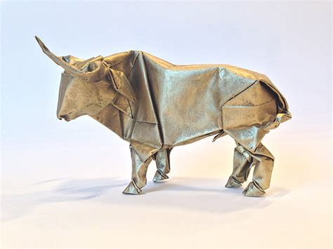 origami bull origami artist sipho mabona will attempt to fold a