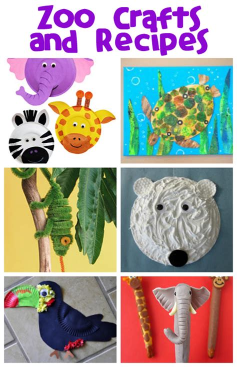zoo crafts for zoo animals crafts for toddlers images