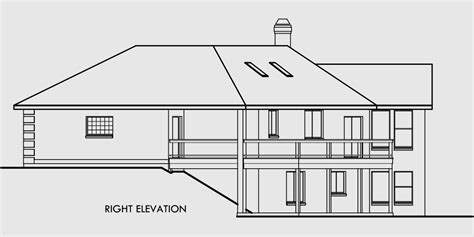 daylight basement home plans ranch house plans daylight basement house plans sloping lot