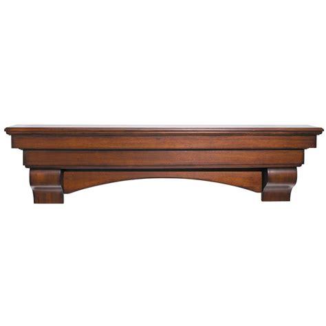 fireplace mantle shelf pearl mantels 495 72 70 auburn 72 inch arched wood