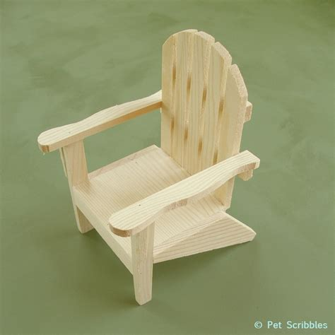 Unfinished Wood Adirondack Chairs by Paint Your Own Mini Adirondack Chair Deja Vue Designs