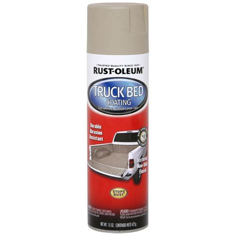 spray paint truck rust oleum automotive 15 oz truck bed coating spray