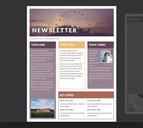 free newsletter templates for word 2007 25 best ideas about newsletter template free on pinterest