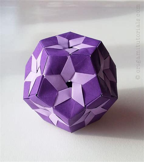 Muntazar Kusudama Tutorial Origami Tutorials