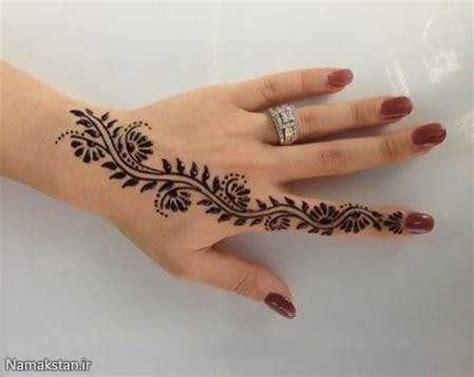 ژورنال شیک انواع طرح حنا روی دست و پا ساده عربی و هندی
