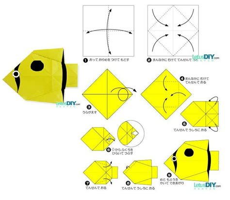tropical fish origami 17 best images about paper folding on tropical