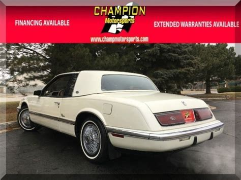 service manual 1991 buick riviera sunroof repair find used 1997 buick riviera 2 door coupe