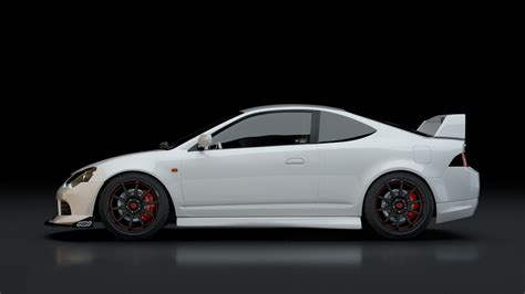 Rsx Type S by Dai Wang 2002 Acura Rsx Type S Render