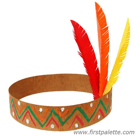 indian paper crafts american headband craft crafts