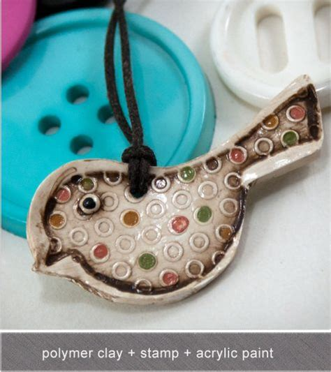 acrylic paint polymer clay polymer clay pendant tips sts and acrylic painting on