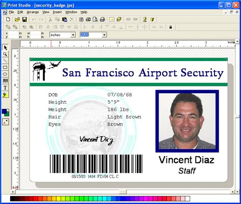 make an id card free id badge printer january 2011