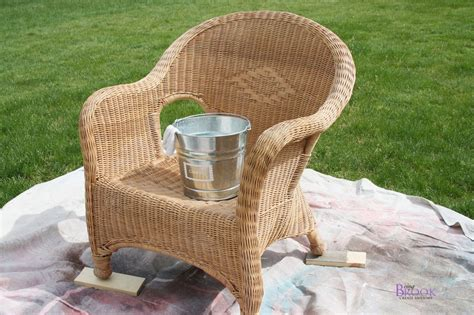 spray painting wicker how to paint wicker porch makeover beingbrook