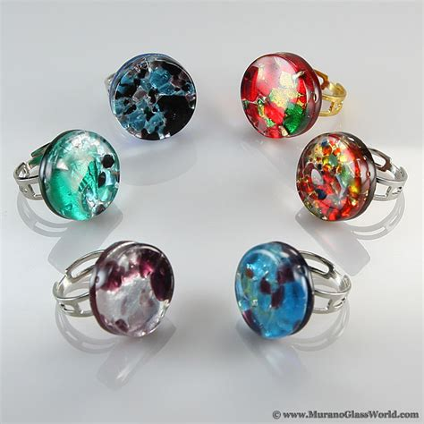 venetian glass wholesale wholesale murano glass rings venetian reflections