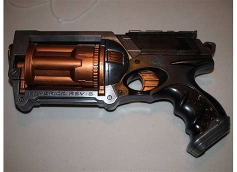 spray paint nerf gun steunk nerf gun disassemble a nerf gun and repaint
