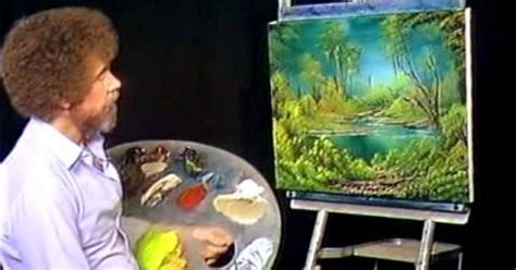 Bob Ross Painting Marshlands Painting The Bff