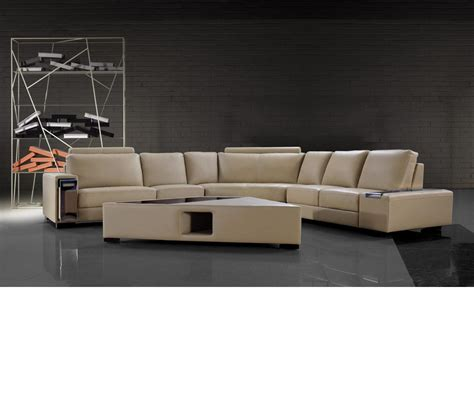 coffee tables for sectional sofas dreamfurniture beige leather sectional sofa