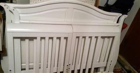 sold 4 in 1 convertible wood crib baby bed oklahoma