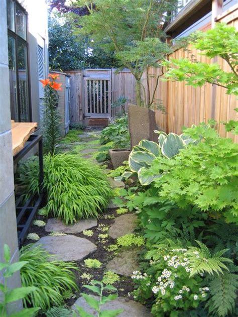 narrow backyard design ideas narrow side yard houzz