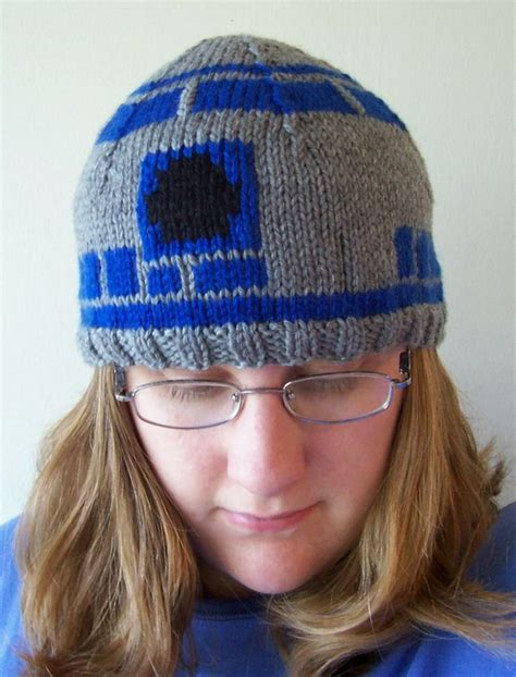 r2d2 hat knitting pattern r2d2 hat project r hats and projects