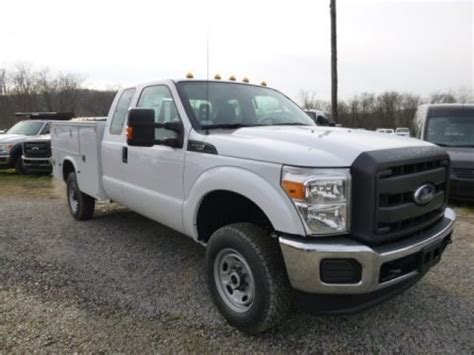 2014 F250 Specs by 2014 Ford F250 Duty Xl Supercab 4x4 Utility Truck