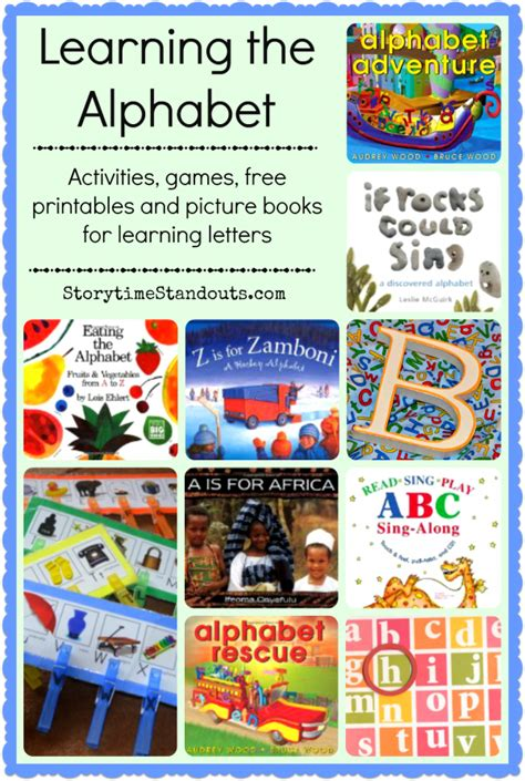 abc picture books storytime standouts alphabet recognition