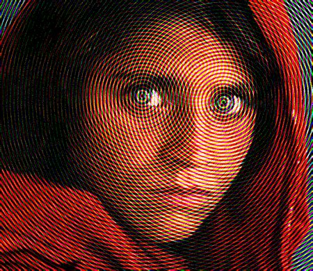 afghan optical illusion