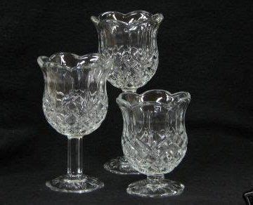 home interiors and gifts candles home interiors stemmed candle holder set by home interior gifts 15 00 thick patterned glass