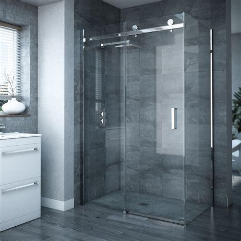 shower doors uk frameless sliding door panel enclosure at