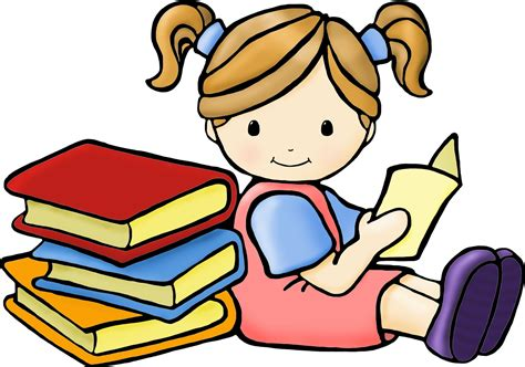 free read reading children clipart clipartsgram
