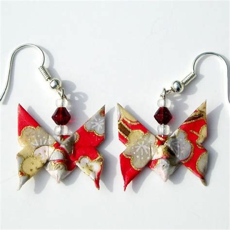bijoux origami 1000 ideas about boucle d oreille origami on