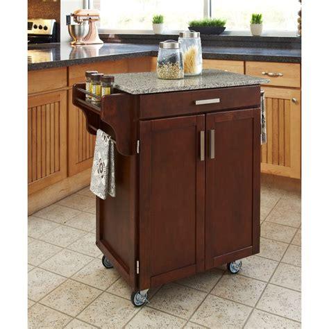cherry kitchen island cart cherry gray granite kitchen cart
