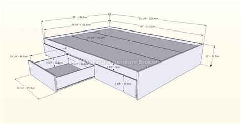 length of standard bed length of a bed frame 28 images standard low platform