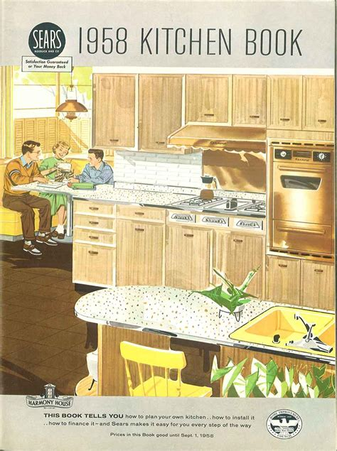 kitchen furniture catalog 1958 sears kitchen cabinets and more 32 page catalog