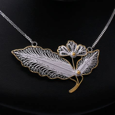 filigree for jewelry primrose necklace